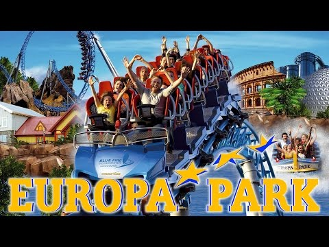 Europa-Park 2013 Park Video HD - Wodan, Blue Fire, Silver Star and more!