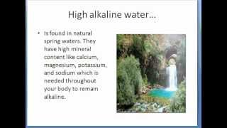 What is Alkaline Water and pH Have to Do With Cancer?
