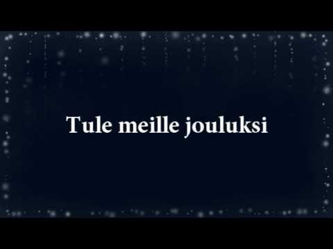 Jenni Vartiainen - Tule meille jouluksi (lyrics)