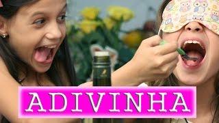 DESAFIO O QUE TEM NA MINHA BOCA  - Milena Stepanienco 8 anos