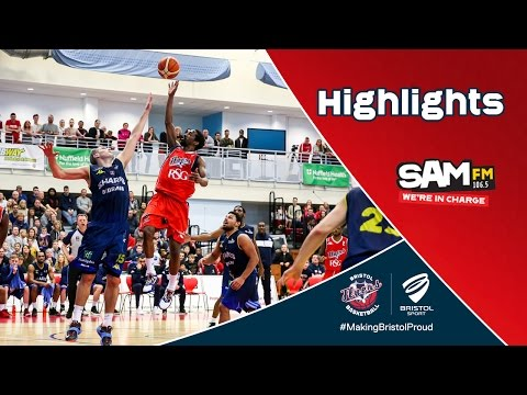 HIGHLIGHTS: Bistol Flyers 82-69 Sheffield Sharks