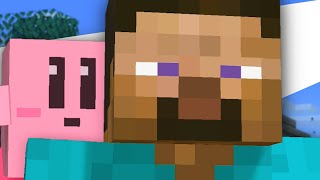 Minecraft Steve but some funny stuff happens