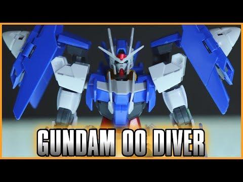 HGBD Gundam 00 Diver Review - GUNDAM BUILD DIVERS - ガンダムダブルオーダイバー