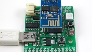 Introduce ESPToy: an Arduino-compatible gadget for the ESP8266 WiFi Module(, 2015-01-03T01:27:26.000Z)