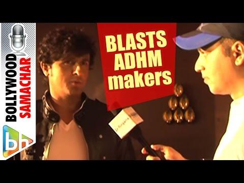 Sonu Nigam BLASTS Ae Dil Hai Mushkil makers for insulting Rafi sahab