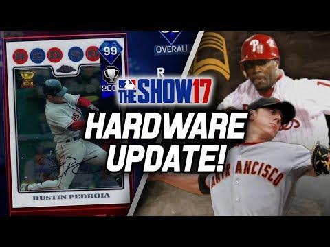MASSIVE Hardware Update! 11 New Diamonds!   MLB The Show 17 Diamond Dynasty