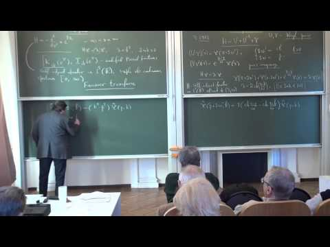 On spectral theory of one functional-difference operator | Леон Тахтаджян  | EIMI | Лекториум