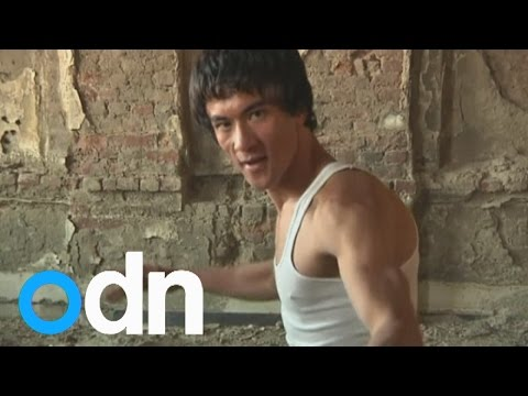 Is this man Bruce Lee's reincarnation...in Afghanistan?