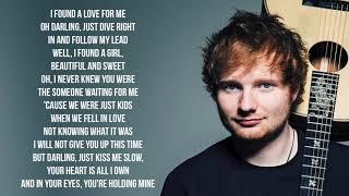Baixar Ed sheeran - perfect duet / with beyonce / lyrics