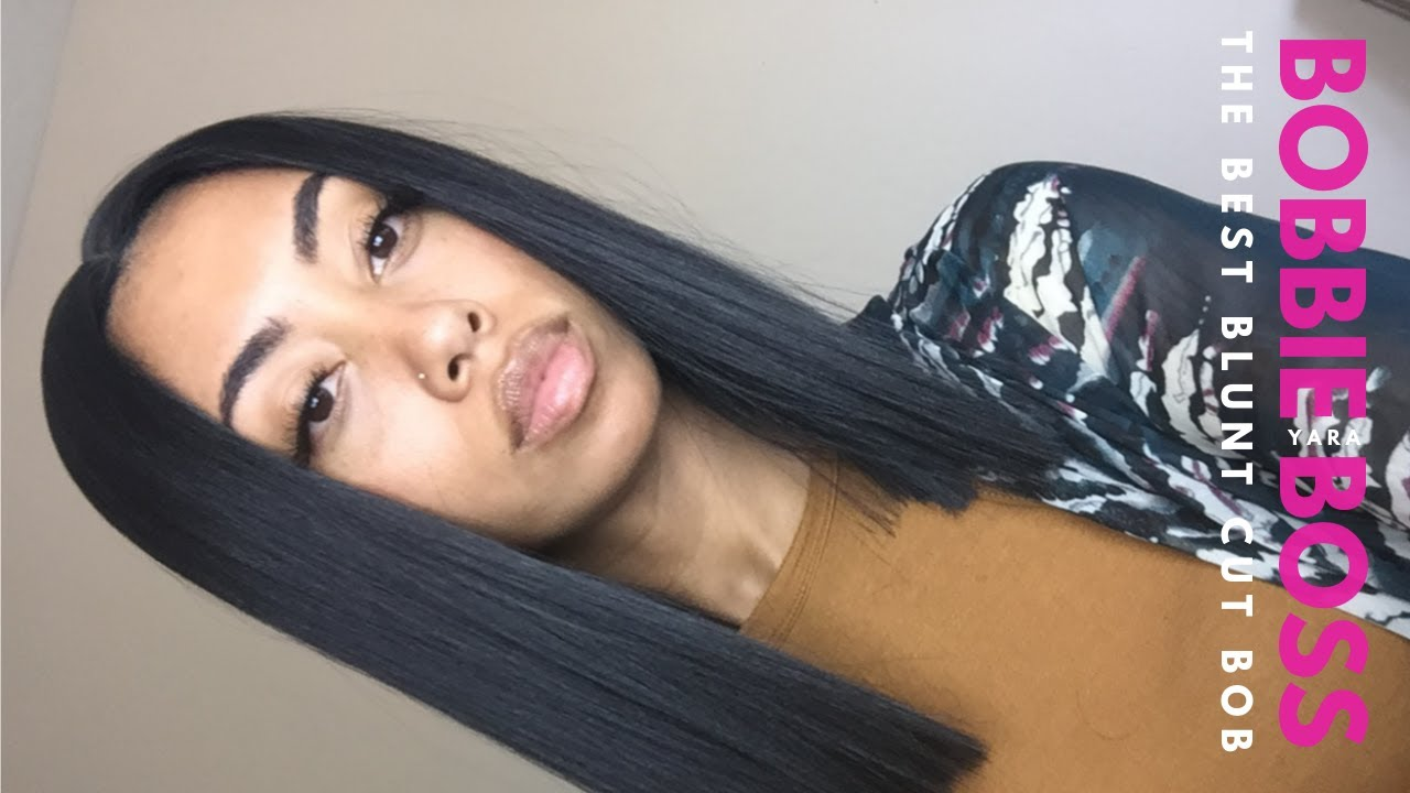Bobbi Boss Yara Wig The Best Blunt Cut Bob Samsbeauty Youtube