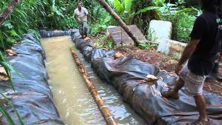 Guadua- Taller en Puerto Rico- 2010 - Parte 1