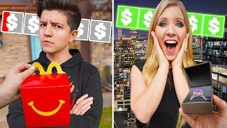 $10 Date vs $1000 Date Night with Preston! - Challenge