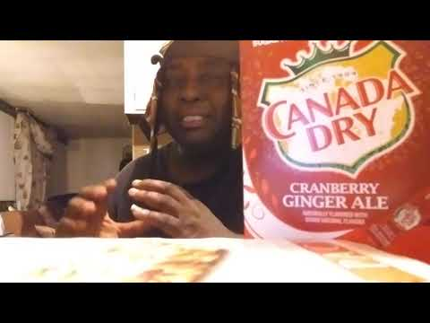 New Canada Dry Cranberry Ginger Ale Zero Sugar Drink Mix Review
