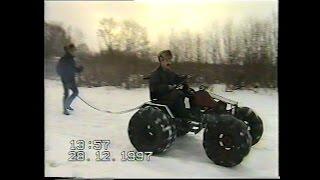 Самодельный вездеход, часть-1. Переделка из трактора и первые испытания.