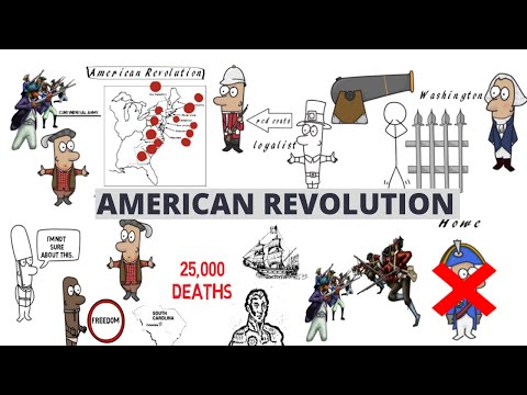 17 COLD FACTS ABOUT THE AMERICAN REVOLUTION (AMERICAN REVOLUTIONARY WAR FACTS)