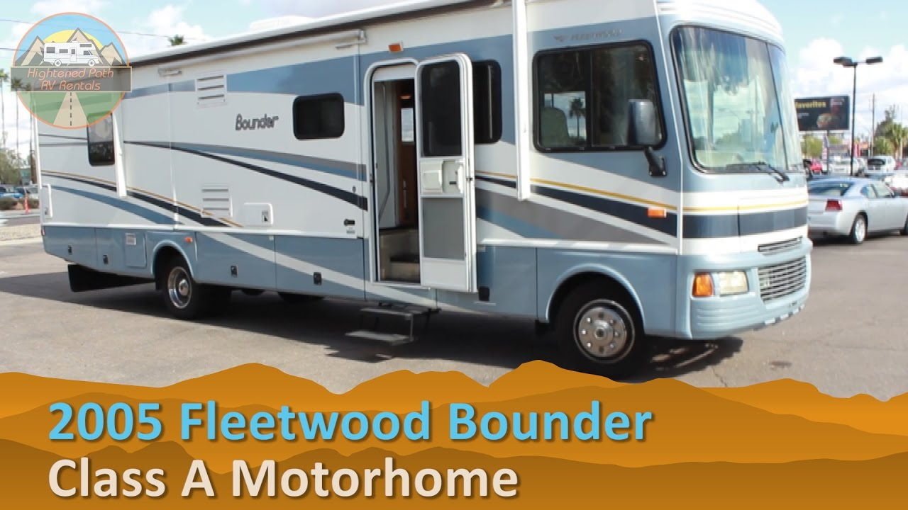 RV Rental Reviews 2005 Fleetwood Bounder Class A Motorhome Hire