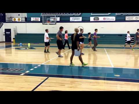 Tennis unit, lesson plan #2, 1st-2nd grade elementary level physical education