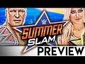 WWE SummerSlam 2018 - PPV Preview/Vorschau - HOT!? 🔥 (Deutsch/German)