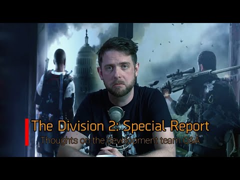 The Division 2 | Thoughts on: Easy Anti-Cheat, VOIP, Dedicated Servers and  more