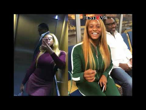Billionaire Femi Otedola is Catching Cold As His Daughter Djcuppy Laughing  At Him In London1