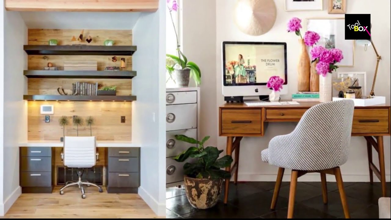 Creative Home Office Interior Design Ideas - YouTube
