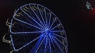 На самом большом в Пензе Колеса Обозрения зажглась ночная иллюминация