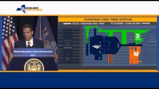 Governor Cuomo Announces Aggressive Plan to Combat Long-Term Crisis at Penn Station