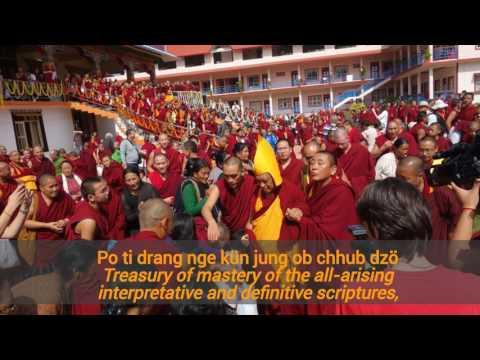 Long Life Prayer for Kyabje Lama Zopa Rinpoche byKhadro la