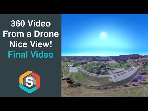 Garmin Virb 360 on the Yuneec Typhoon H drone