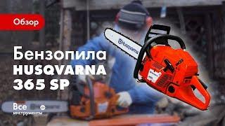 Обзор бензопилы Husqvarna 365 SP
