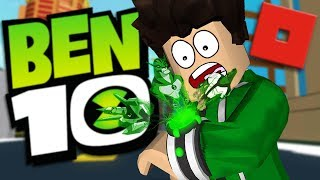 BECOMING BEN 10 IN ROBLOX