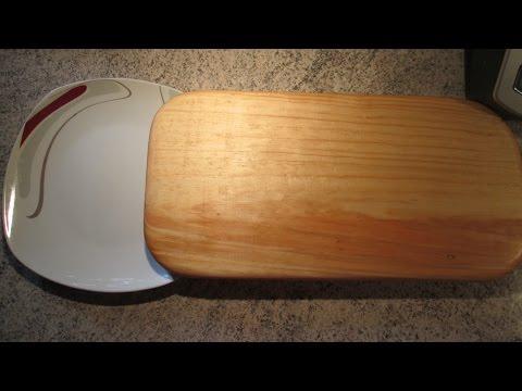 Haciendo una tabla para la picada artesanias carry doovi for Como hacer una tabla para picar de madera