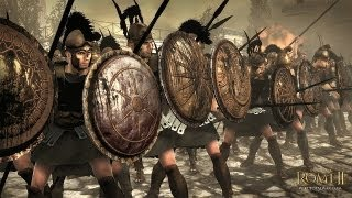 ROME 2 - 300 Spartans vs 1000 Romans