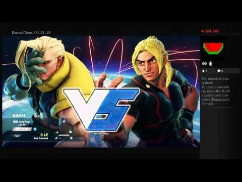 Street Fighter V Stream Online Battles!