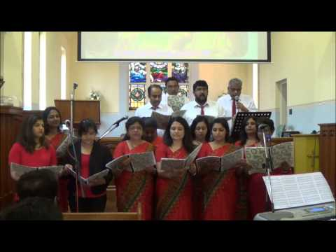 CSI SYDNEY Church Christmas Carol Choir 2014  Singing Kuyile ...