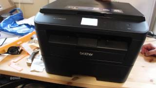 Brother HL-L2380DW Unboxing and Review [Unboxing]