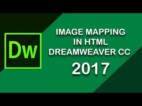 Clickable Image Map In HTML5 - Dreamweaver CC 2017