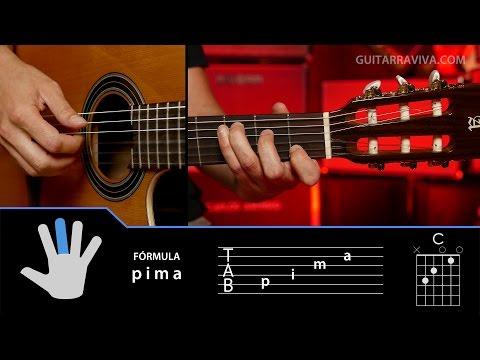 Cómo tocar arpegios en guitarra tecnicas Clase 1 | Técnica Guitarraviva