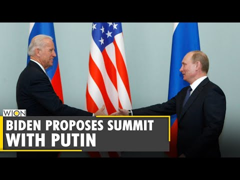 US Prez Joe Biden proposes a high-level summit with Vladimir