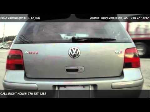 2003 Volkswagen GTI 1.8T - for sale in Buford, GA 30518