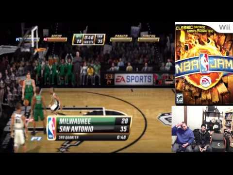 NBA Jam Part 12 - Bucks VS San Antonio Spurs