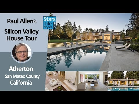 Paul Allen's Silicon Valley House Tour | Atherton, California | $27 Million | Microsoft Co-Founder