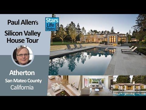 Paul Allen's Silicon Valley House Tour | Atherton, California | $27 Million | Microsoft Co-Founder