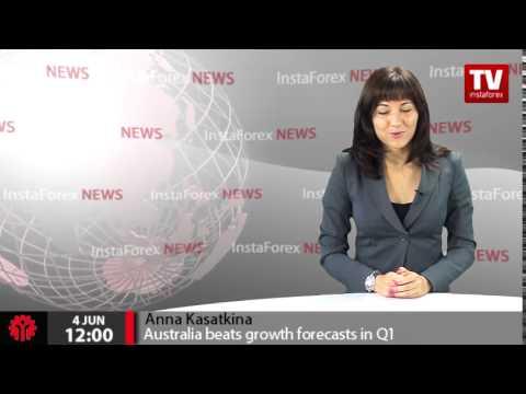 Australia beats growth forecasts in Q1
