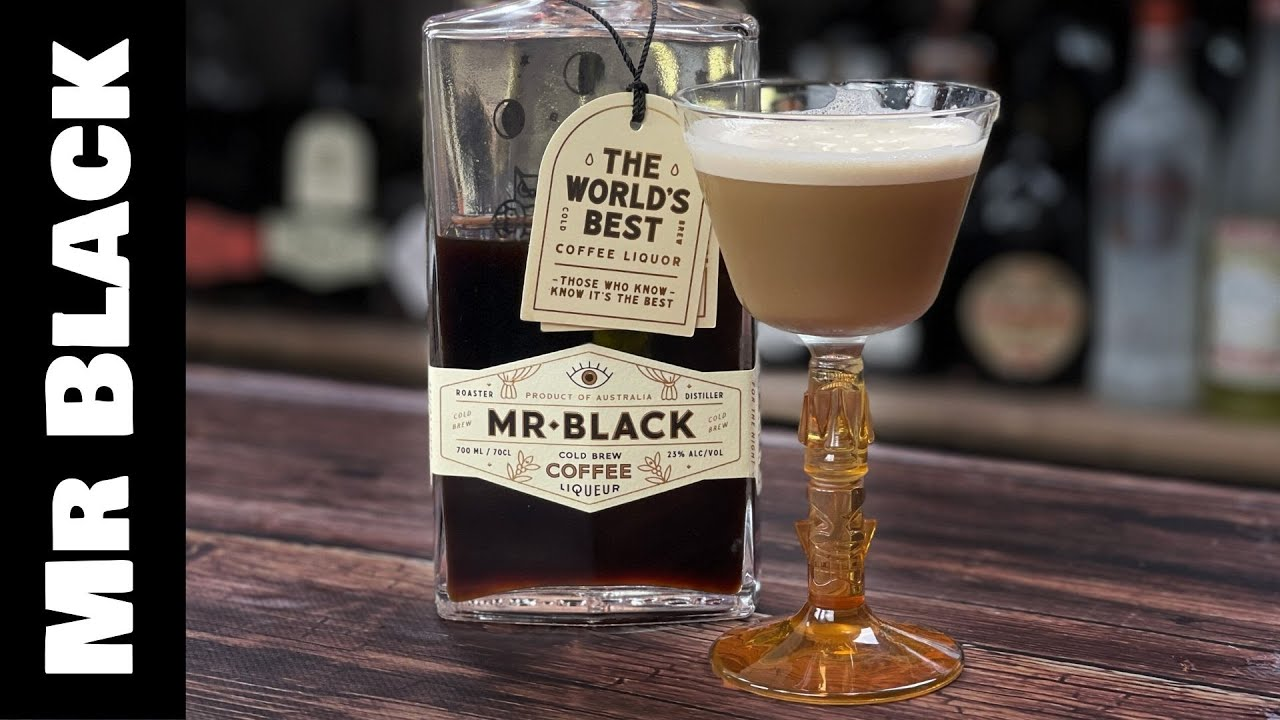 Mr Black Coffee Cocktails - COCONUT Espresso Martini Recipe