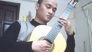Nụ hồng mong manh - solo classical guitar