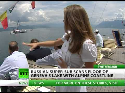 Russian super-subs in Swiss waters