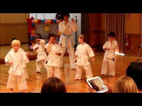 Movie of Will's program and karate exhibition smaller