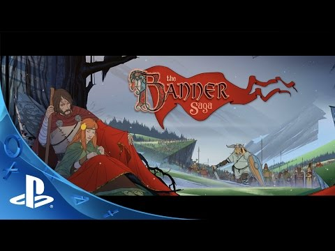 The Banner Saga - Launch Trailer | PS4