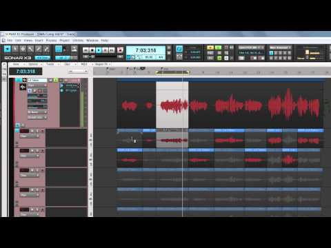 SONAR X3 Get Started: Comping